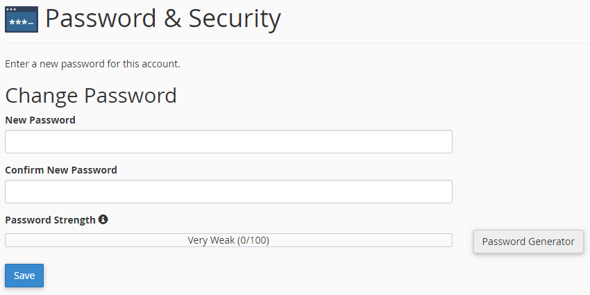 How to Change Password in Webmail